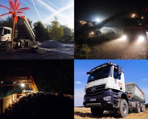 Transporte bei der Dieter Graßhoff GmbH